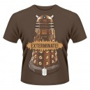 Exterminate T-shirt from the Doctor Who daleks