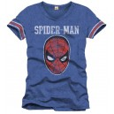 T-shirt Spider-Man bleu