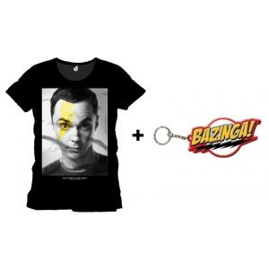 Pack porte-clé Bazinga + T-shirt Bolt