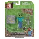 Minecraft Action Figure Zombie 8 cm