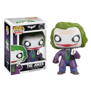 Figurine Joker dans The Dark Knight Pop! Vinyl