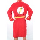 The Flash fleece bathrobe