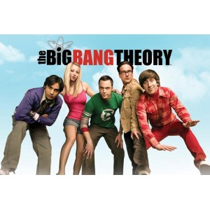 "Poster The Big Bang Theory, ""Sky"""