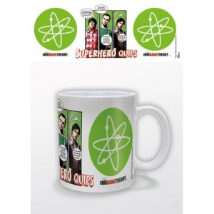 Mug The Big Bang Theory, Superhero Quips
