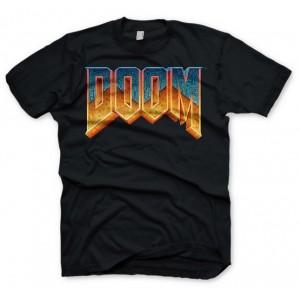 T-shirt Doom : logo