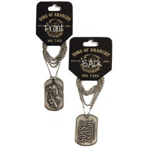 Pendentif Sons of Anarchy : Dog tag