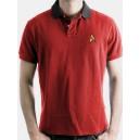 Polo Shirt Star Trek red
