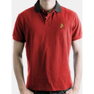 Polo Star Trek rouge