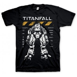 T-shirt Titanfall : Atlas Spec