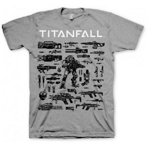T-shirt Titanfall : Choisissez votre arme