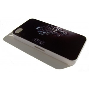"Coque Iphone 4, 4S et 5 Game of Thrones, ""Winter Is Coming"""
