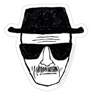 Vinyl Sticker Heisenberg Pack (5) - Breaking Bad