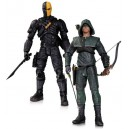 Figurines Arrow : Oliver Queen et Deathstroke 17cm