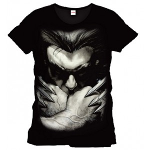 T-Shirt Wolverine Ready To Fight - Marvel Comics