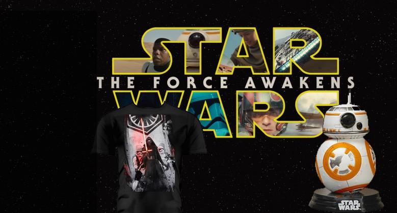 Produits dérivés Star Wars épisode VII