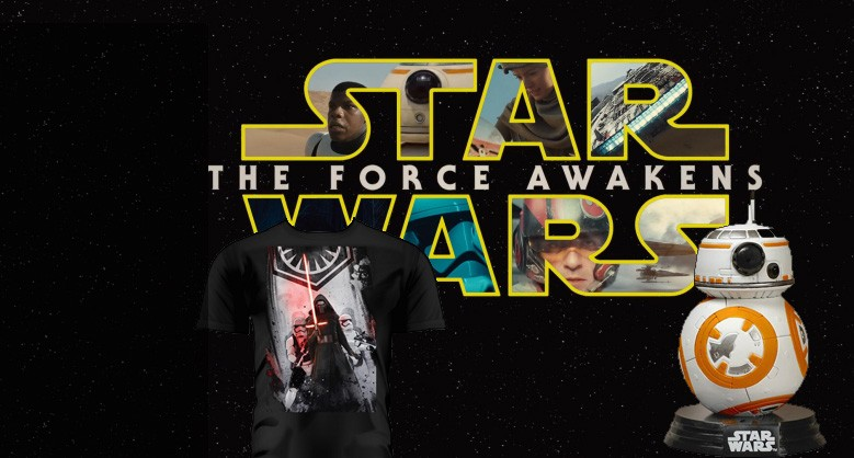 Star Wars VII merchandising